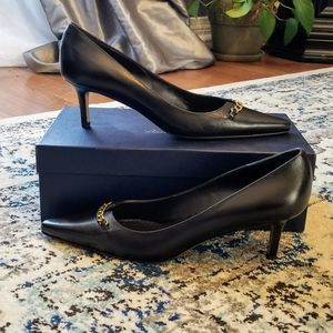NIB Brooks Brothers Kitten Heel Shoes Size 7.5